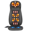 Shiatsu Neck & Back Massager with Heat, Full Back Kneading Shiatsu or Rolling Massage Cushion